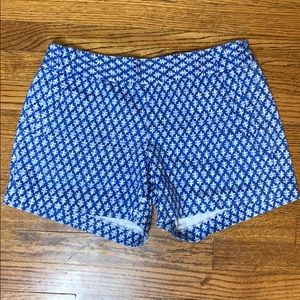 J. Crew Stretch City Fit Print Shorts